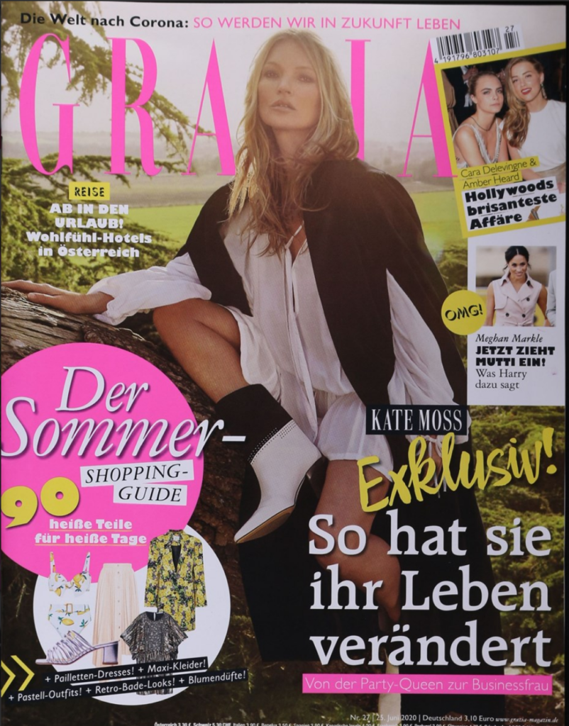 Grazia Cover Juni 2020
